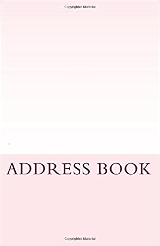 Book ADDRESSBOOK - Light Pink Colour