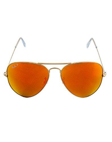 Metal sol Ray de Ban Large para Hombre Gafas Verde Aviator pBqwtawT