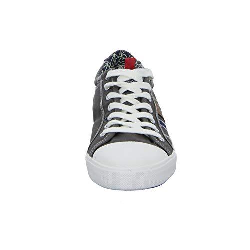 Sneaker Casual 13601 S Stringate oliver Webb In Uomini Degli Grigio Tela X50W5q