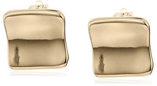 Square Button Earrings (Robert Lee Morris