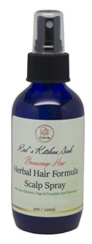 Beaucoup Hair Herbal Hair Growth Scalp Spray for Men & Women - Anti Hair Loss DHT (Hair Loss Treatment Spray)