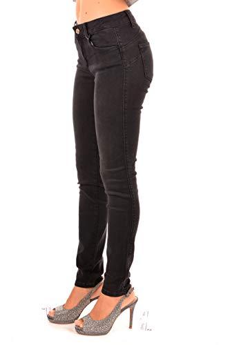 Jo Donna Liu Regular B up Divine Jeans Sport Nero Waist dqxqwgvft