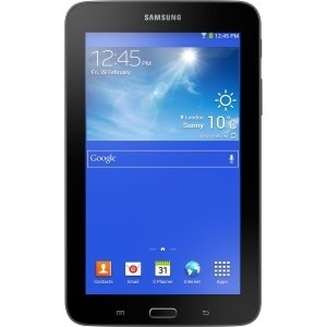 Samsung Galaxy Tab 3 Lite SM-T110NYKAXAR 8 GB Tablet - 7'' - Wireless LAN - 1.20 GHz - Black - 1 GB RAM - Android 4.1.2 Jelly Bean - Slate - 1024 x 600 - Bluetooth - SM-T110NYKAXAR by Generic