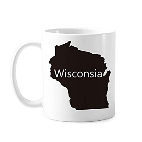 Amazon.com: Wisconsin The United States Of America USA Map ...