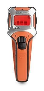 Black+Decker BDS303-XJ - Detector '3 en 1' metal, estructuras y cables con calibrado automático y pantalla LCD