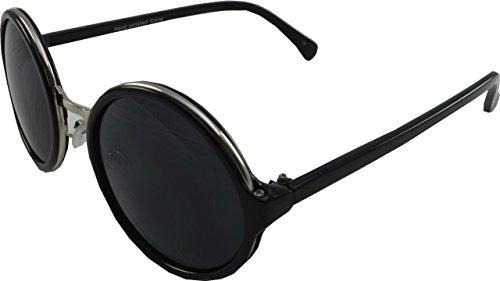 Revive Eyewear Big Girls' Madison Wo Beyonce / Gaga Black Frame/ Black Lens Non Polarized Sunglasses - Beyonce Sunglasses