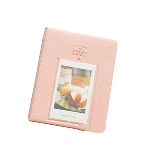 Hainiter Photo Album Mini Memory Collection Album for Polaroid Memory Collection Album Embroidered Live Laugh Love Hold 64 Photos