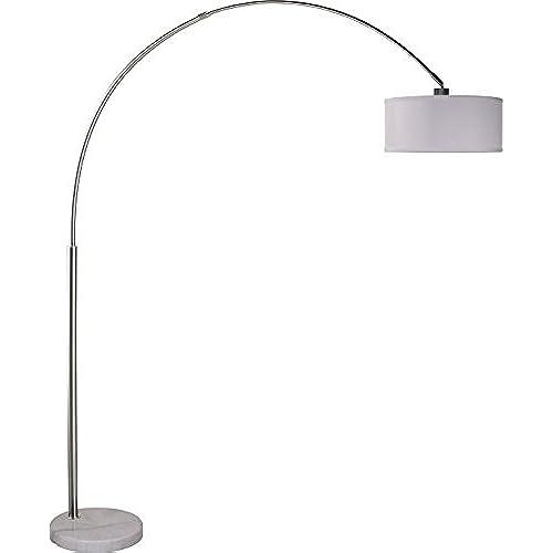 Overarching floor lamp amazon sh lighting milton greens stars sophia adjustable arc floor lamp with marble base 81 inch aloadofball Image collections