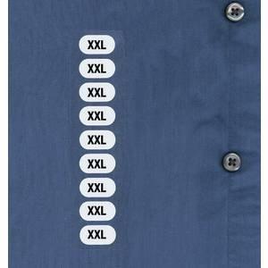 Unisex Clothes Size Labels XXL Case of 250