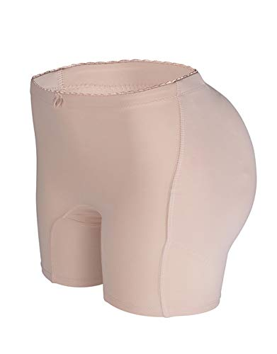 FUT Womens Seamless Butt Lifter Padded Panties Enhancer ()