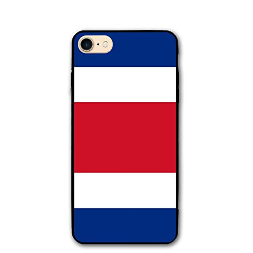 Flag Of Costa Rica Print IPhone 7 Case 8/8s Cases PC Material Full Protection Fit Resistant 4.7 Inch Cover Case