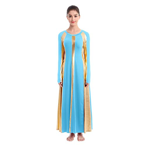 IBAKOM Praise Lyrical Dance Dress, Women Adult