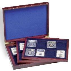 Lighthouse Volterra TRIO de Luxe presentation case for 24 certified coin holders - 4004117237782 ()