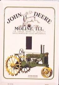 John Deere Tractor Light Switch Plate