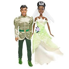 Barbie The Princess and the Frog Wedding Doll Set -