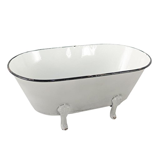 Foreside Home & Garden Enamel Bathtub from Foreside Home and Garden