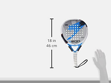 Slazenger 0503379 Pala de pádel, Unisex Adulto, Blanco/Azul/Gris ...
