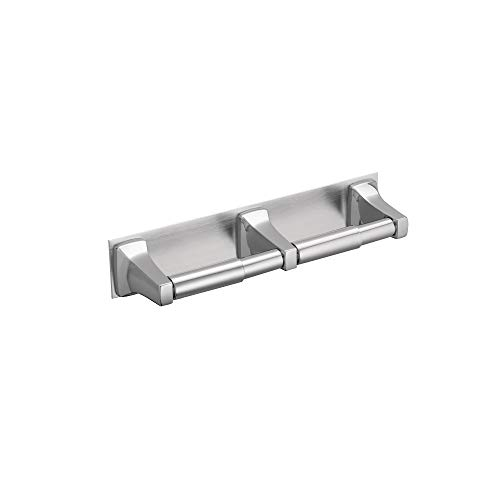 Moen R5580 Hotel Motel Commercial Donner Collection In-Line Double Roll Toilet Paper Holder, Chrome