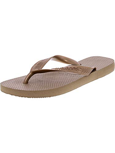 Havaianas Women's Top Tiras Sandals, Rose Gold, 39/40 BR (9-10 M US) from Havaianas