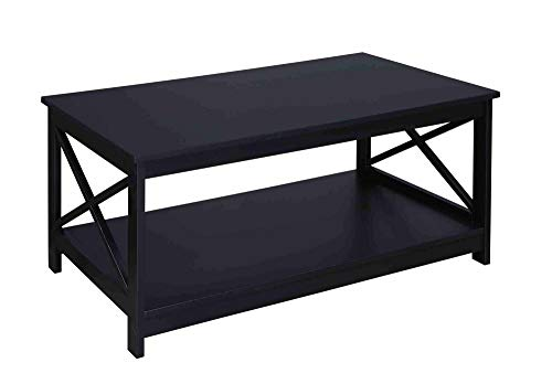 Convenience Concepts Oxford Coffee Table, Black