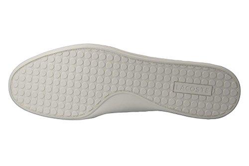 Lacoste , Chaussures de ville à lacets pour homme blanc Weiß