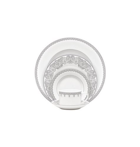 Lismore Lace 5 Piece Place - Fine Setting China Place