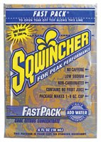 "Sqwincher Corporation 015310-CC Sqwincher 0.6 oz. Fast Pack Liquid Concentrate Packet Cool Citrus Electrolyte Drink, Yields 6 oz., 50 Single Serving Packets Per Box, Plastic, 1"" x 1"" x 1"""