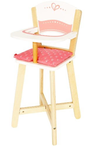 - Award Winning Hape Babydoll Highchair Toddler Wooden Doll Play Furniture