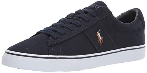 Polo Ralph Lauren Men's Sayer Sneaker, Aviator Navy, 12 D US