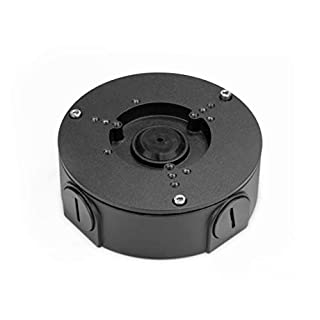 Amcrest AMCPFA130-E-B Water-Proof Junction Box for Bullet Cameras, Compatible w/ IP2M-843EB, IP3M-943, IP4M-1026E, IP4M-1055E, IP5M-T1179E, IP5M-1173E, IP8M-2496E, IP8M-T2499E, AMC4KDM28-B