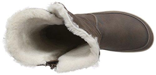 Birkenstock Woodbury Damen botas de mujer caño bajo de cuero mujer de marrón 3739d7
