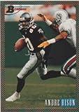 Andre Rison 1993 Bowman Rainbow Foil Technology Football (Falcons)