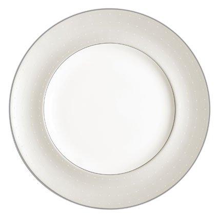 Royal Doulton Monique Lhuiller Etoile Platinum 10-1/2-inch Dinner Plate
