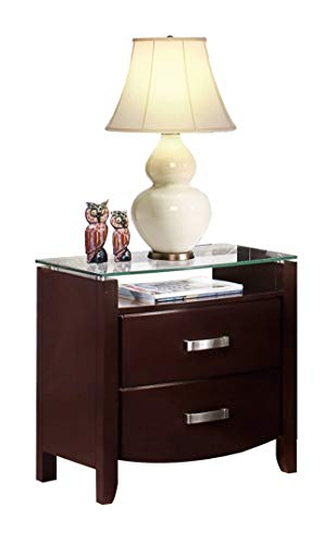 Labeth Nightstand in Dark Espresso