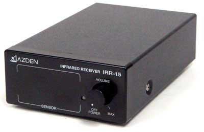 Azden Power Supply - Azden IRR-15 Infrared Receiver - Single Channel - with Power Supply