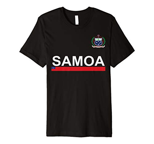 (Western Samoa National Flag and Emblem T-shirt)