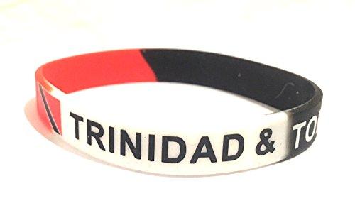 Trinidad & Tobago flag silicone (Trinidad Wristband)