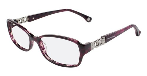 Michael Kors MK217 Eyeglasses (502) PURPLE HORN, - Womens Eyeglasses Michael Kors