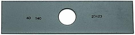"Edger Blades 7 3//4"" x 2"" 1"" Center Hole Black 375-661-TH 10"