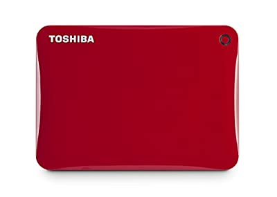 Toshiba Canvio Connect II 500GB Portable Hard Drive, Black (HDTC805XK3A1) by Toshiba