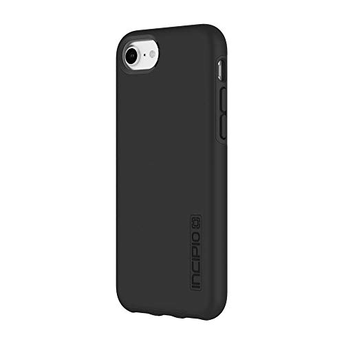 Incipio DualPro iPhone 8 & iPhone 7/6/6s Case with Shock-Absorbing Inner Core & Protective Outer Shell for iPhone 8 & iPhone 7/6/6s - Black/Black from Incipio