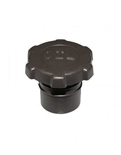 Cremallera Negra Tap/ón de dep/ósito de Aceite para Scoot Adaptable Piaggio 50 Typhoon opci/ón p2r