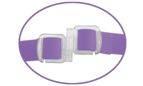 Elite Vibrating Double Delight Strap On Silicone Waterproof 10 Inch - Purple - Fetish Fantasy Elite by Pipedream Products (Image #2)