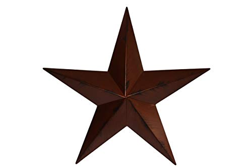 Heavy Duty Metal Star 40″ Painted Rustic Metallic Copper. These Metal Stars Add a Touch of Country to Your Home Decor. You Will Not Be Disappointed with the Quality and Workmanship on These Barn Stars. They Are Handcrafted Out of 22 Gauge Galvanized Steel and Will Not Rust. Add a Barnstar to Your Home Decor Today. Assembly Required. For Sale