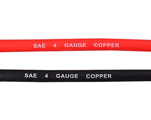 CARTMAN-Ultra-Flexible-Car-batteryWelding-Cable-4-Gauge-15-Red-15-Black-With-5-Copper-Lugs