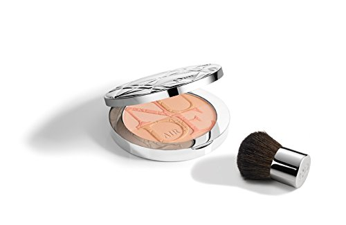 DIORSKIN NUDE AIR GLOW POWDER # 015 FRESH CORAL # SUMMER LOOK 2016 MILKY DOTS (Milky Dots)