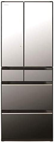日立 567L 6ドアノンフロン冷蔵庫 ぴったりセレクト KXタイプ クリスタルミラー R-KX57NX