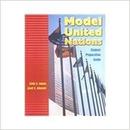 Book MODEL UNITED NATIONS: AN INNOVATIVE TEACHING APPROACH by ADAMS LINDA S ADAMSKI JANET E (2002-04-19)
