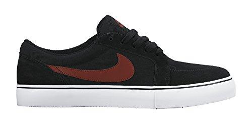 Nike SB Satire II, Men's Skateboarding Black / Rojo (Black/Team Red-white)