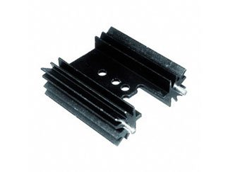 s ASSMANN ELECTRONICS V7477X Aluminum Black Anodized 38.1 x 35mm Bolt On//PC Pin Vertical Board Level Heatsink 100 item